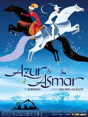 Azur et Asmar kapak