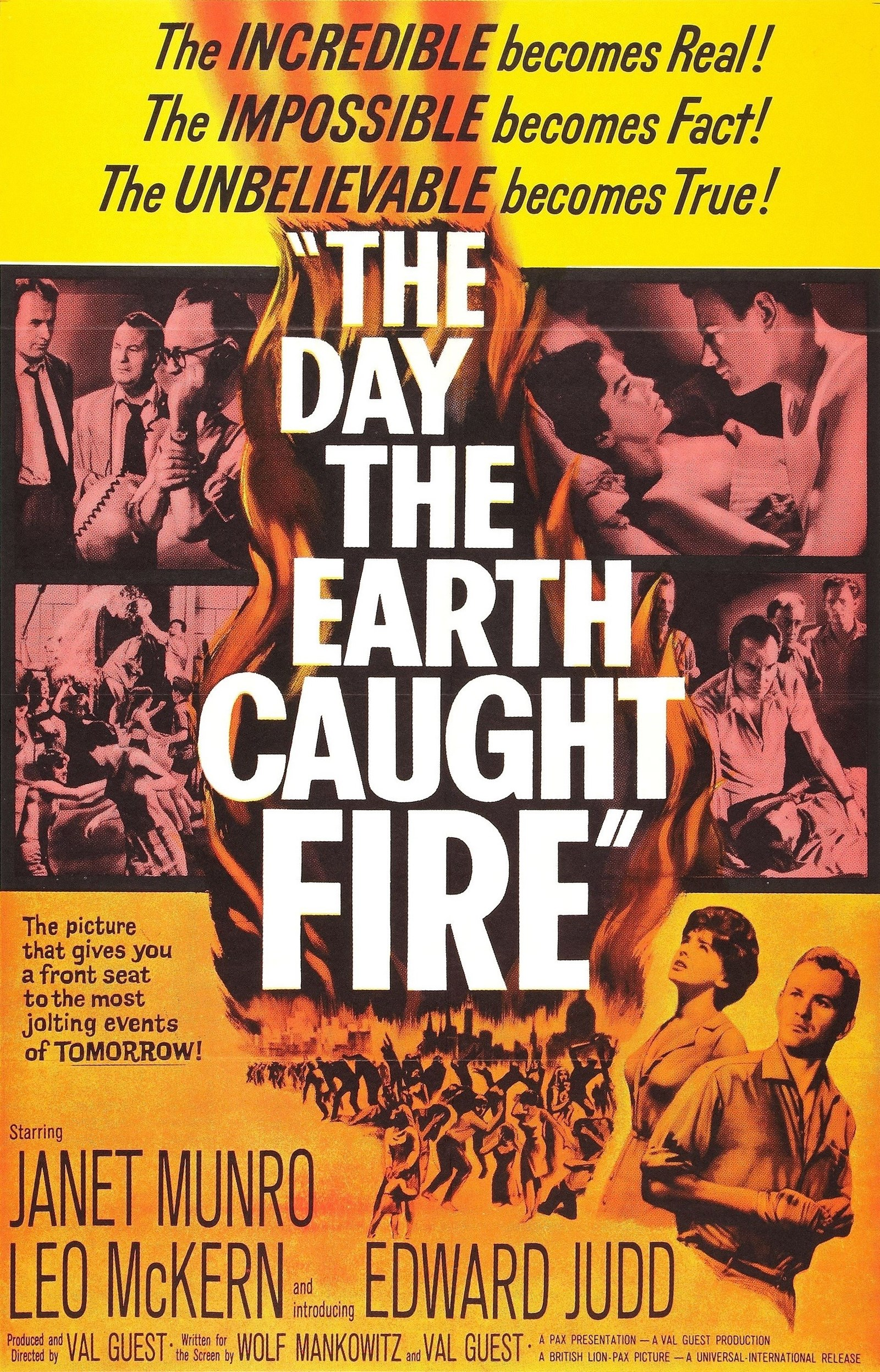 The Day the Earth Caught Fire kapak