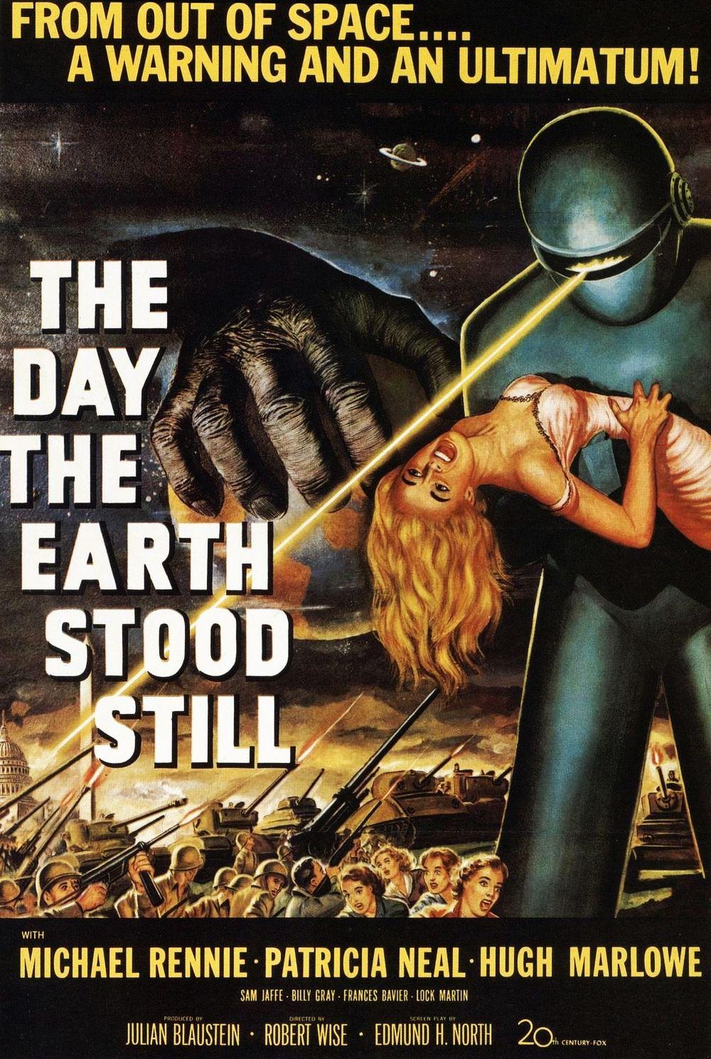 The Day the Earth Stood Still kapak