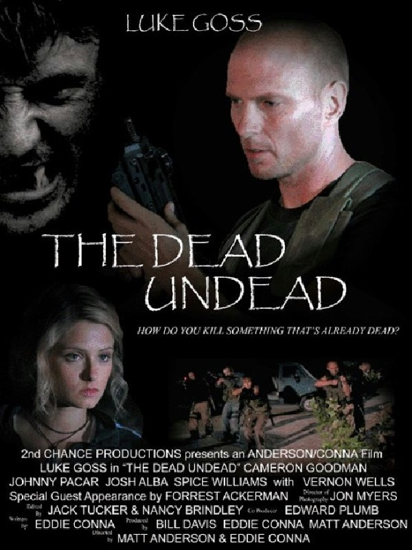 The Dead Undead kapak