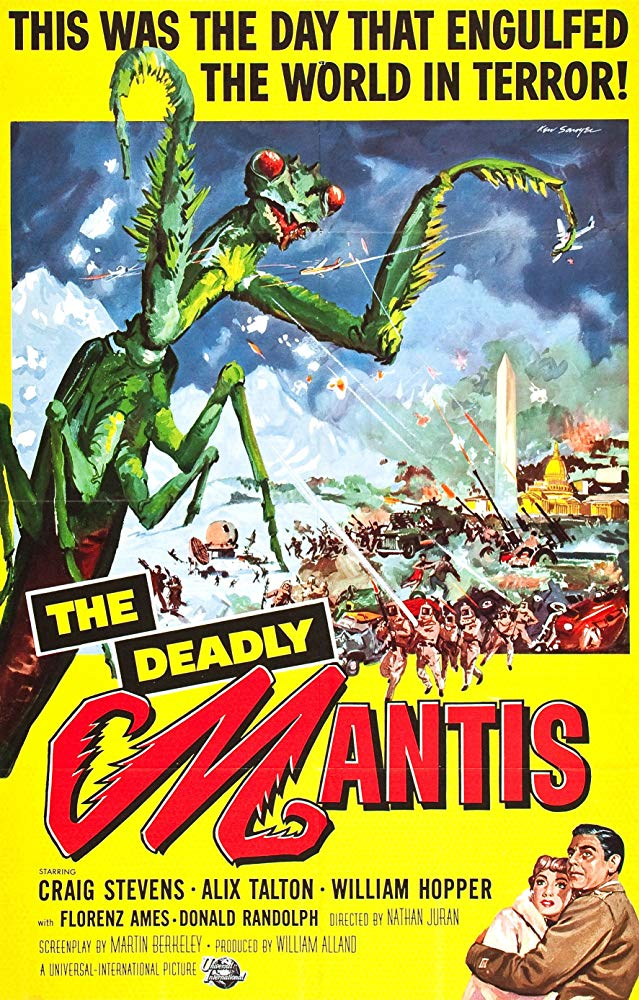 The Deadly Mantis kapak