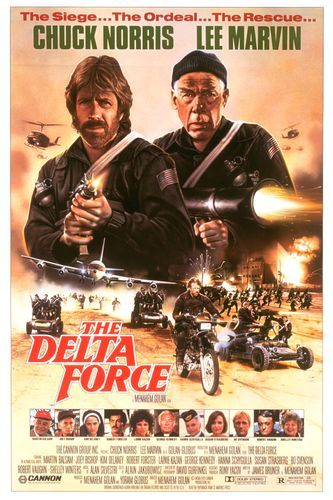 The Delta Force kapak