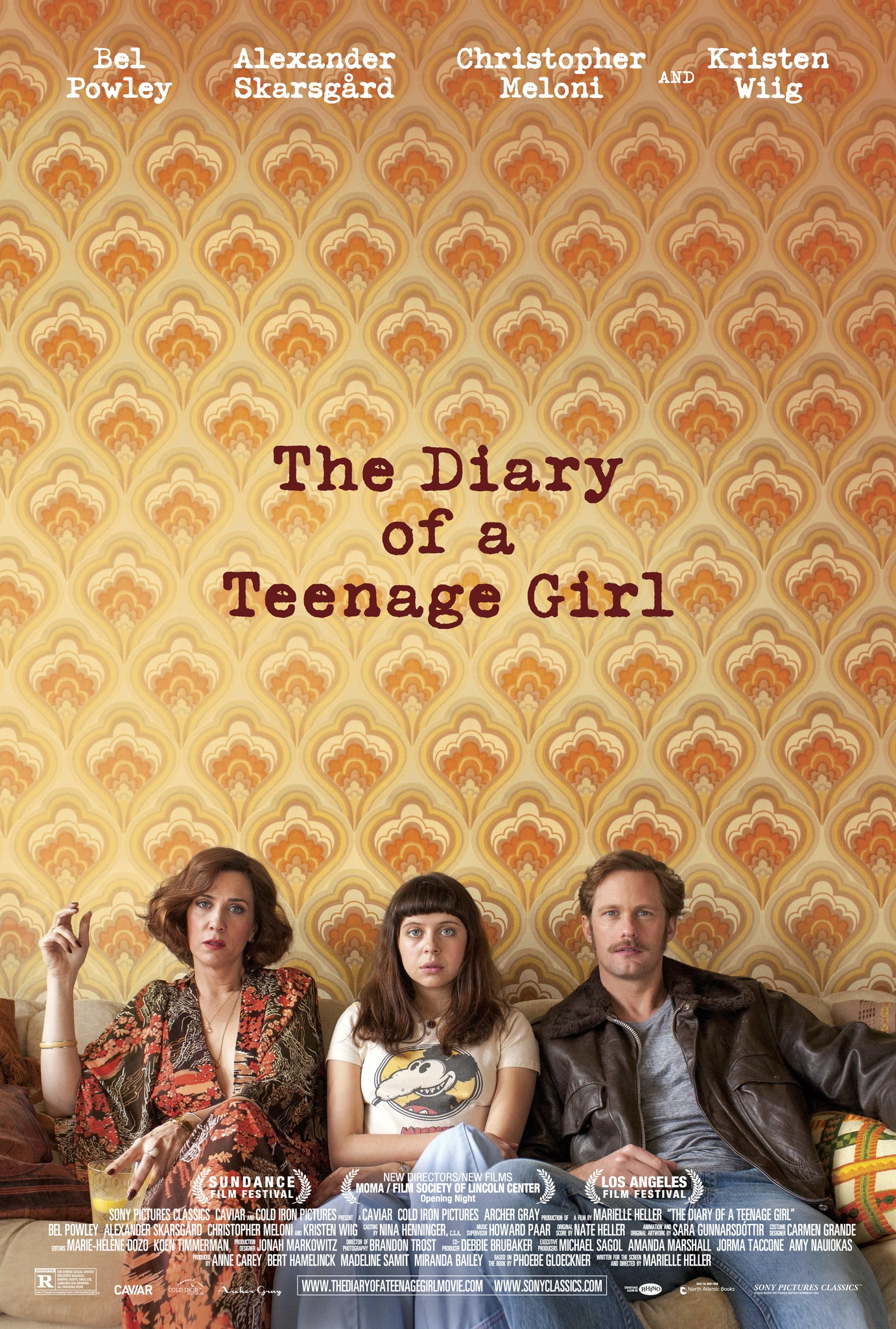 The Diary of a Teenage Girl kapak