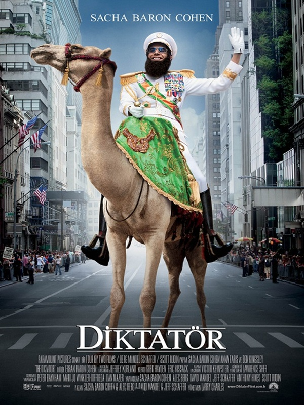 The Dictator kapak