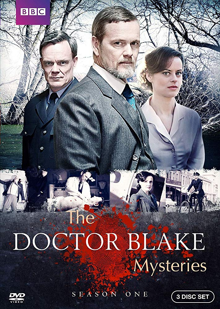 The Doctor Blake Mysteries kapak