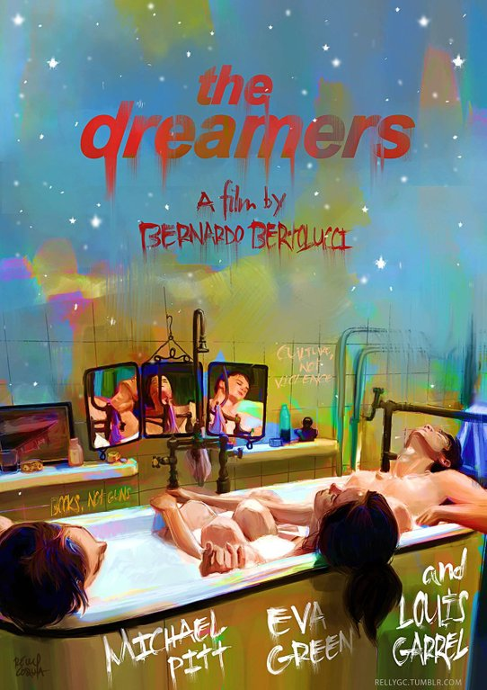 The Dreamers kapak