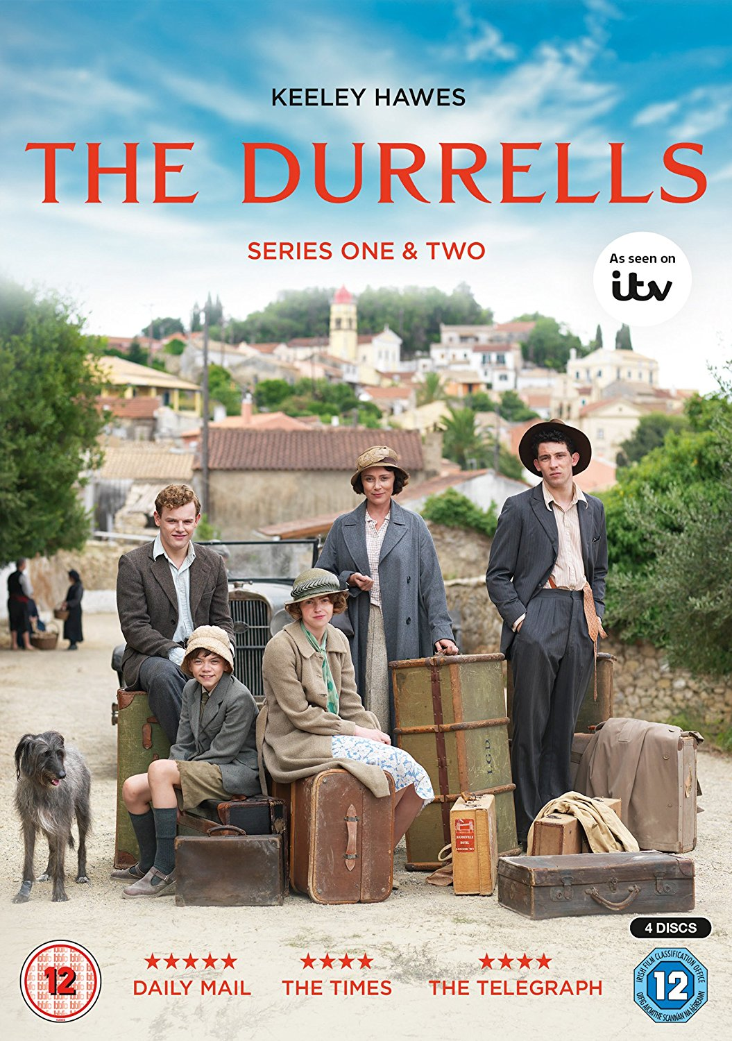 The Durrells in Corfu kapak