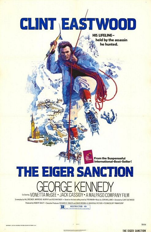The Eiger Sanction kapak