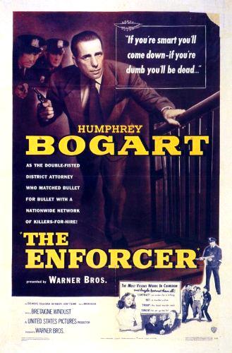 The Enforcer kapak