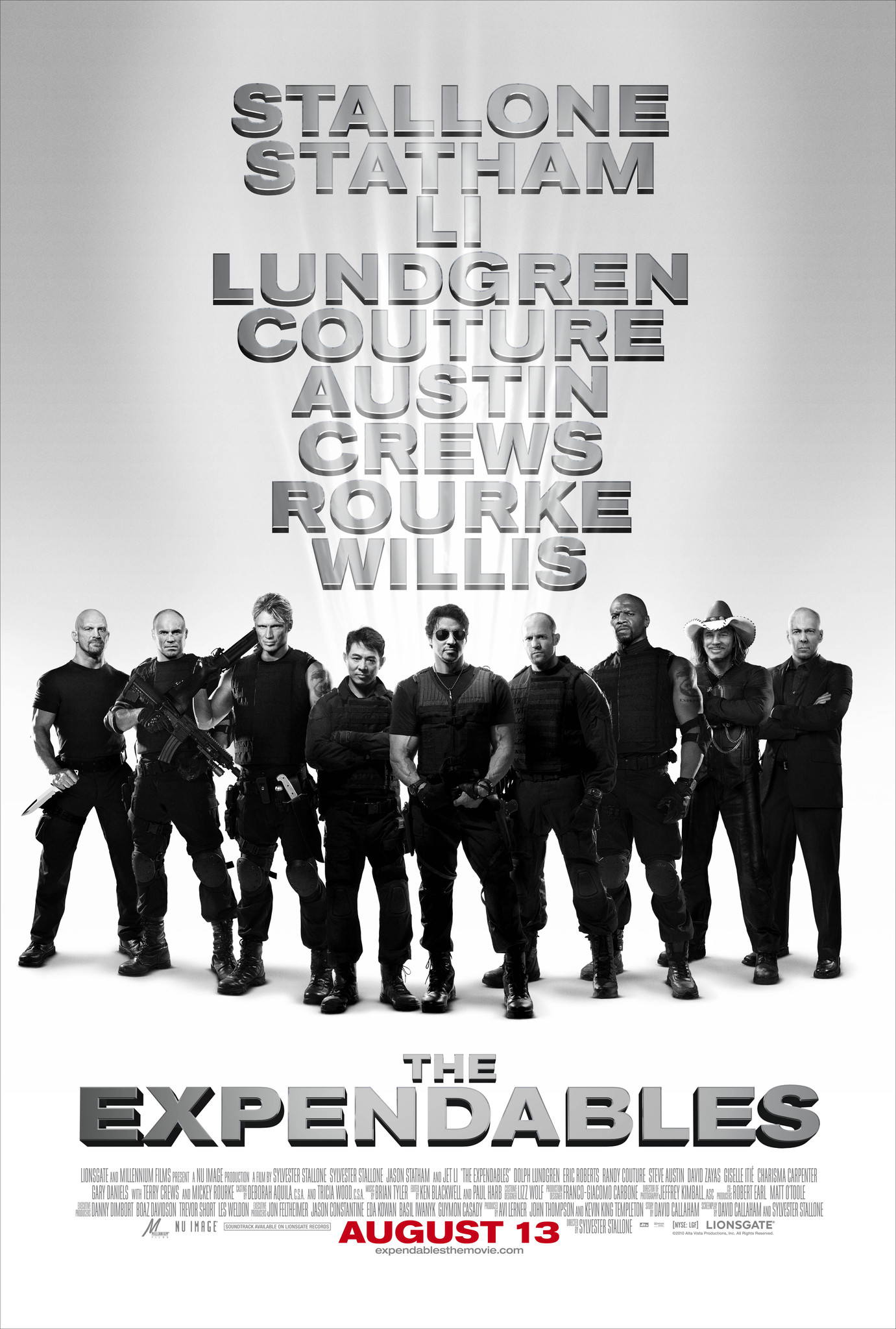 The Expendables kapak