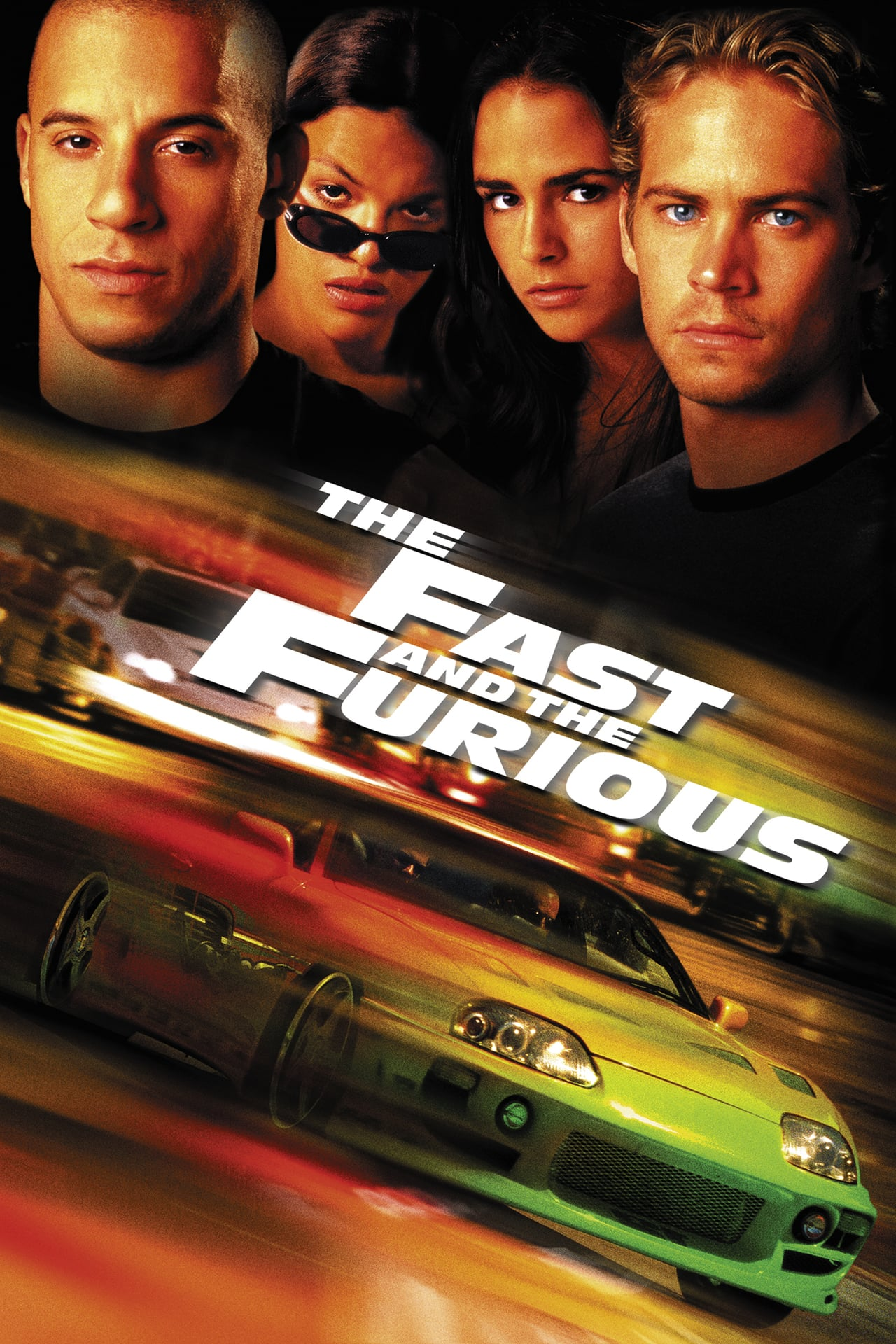 The Fast and the Furious kapak