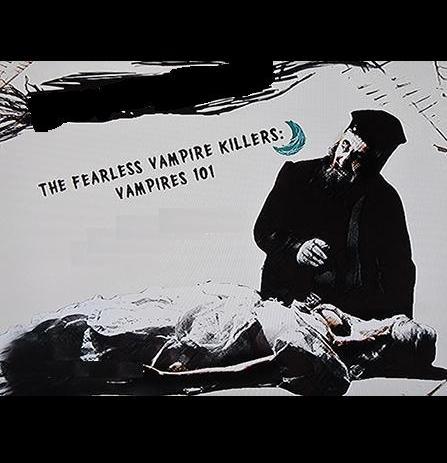 The Fearless Vampire Killers: Vampires 101 kapak
