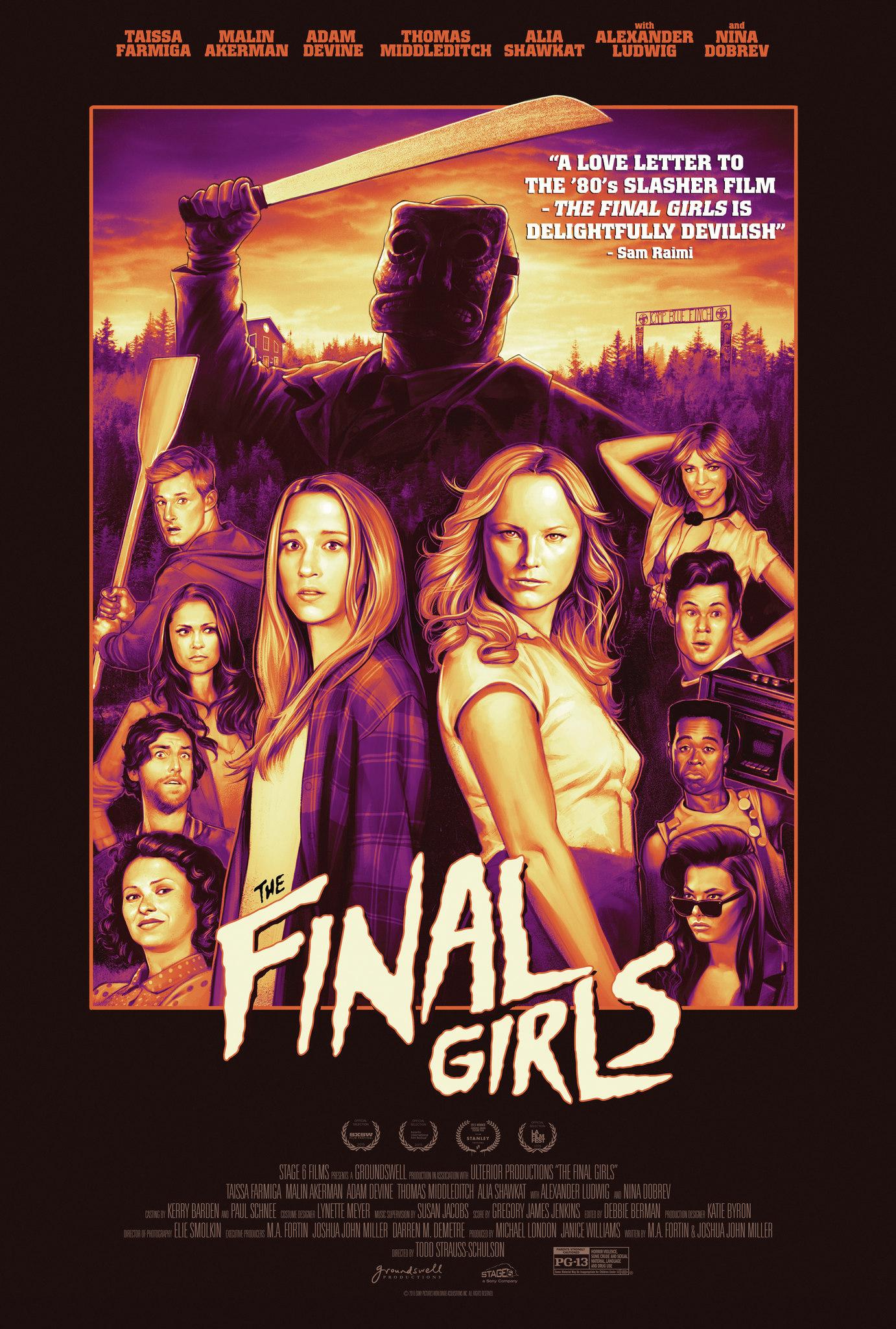 The Final Girls kapak