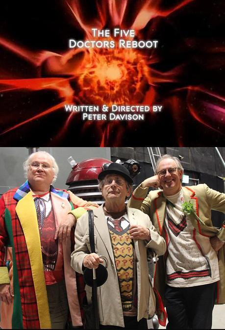 The Five(ish) Doctors Reboot kapak