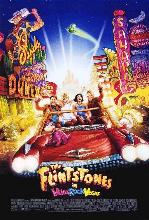 The Flintstones in Viva Rock Vegas kapak