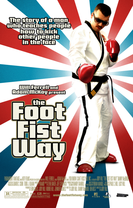 The Foot Fist Way kapak