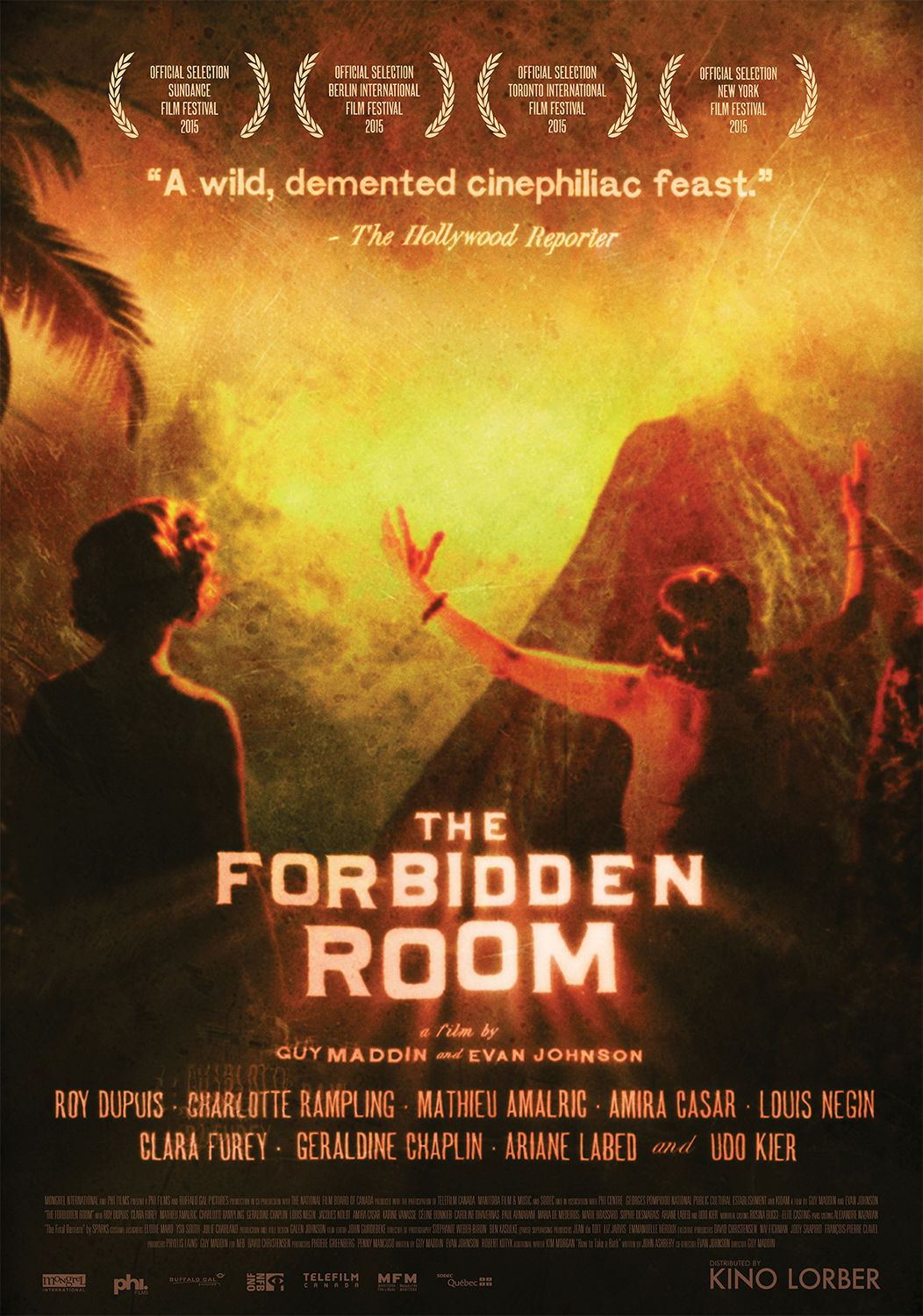 The Forbidden Room kapak
