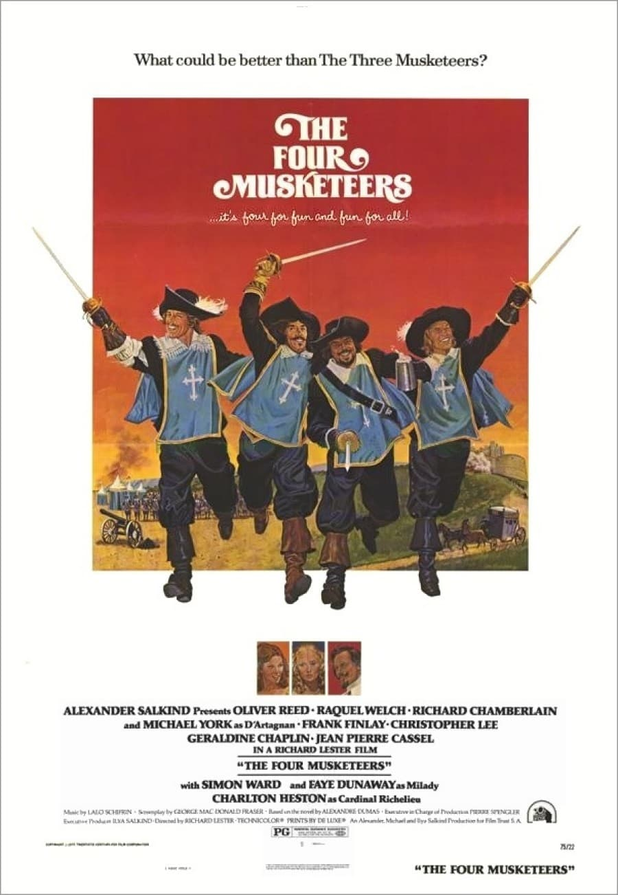 The Four Musketeers kapak