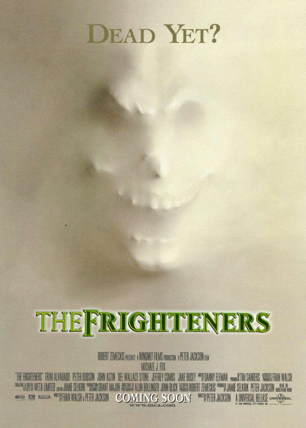 The Frighteners kapak