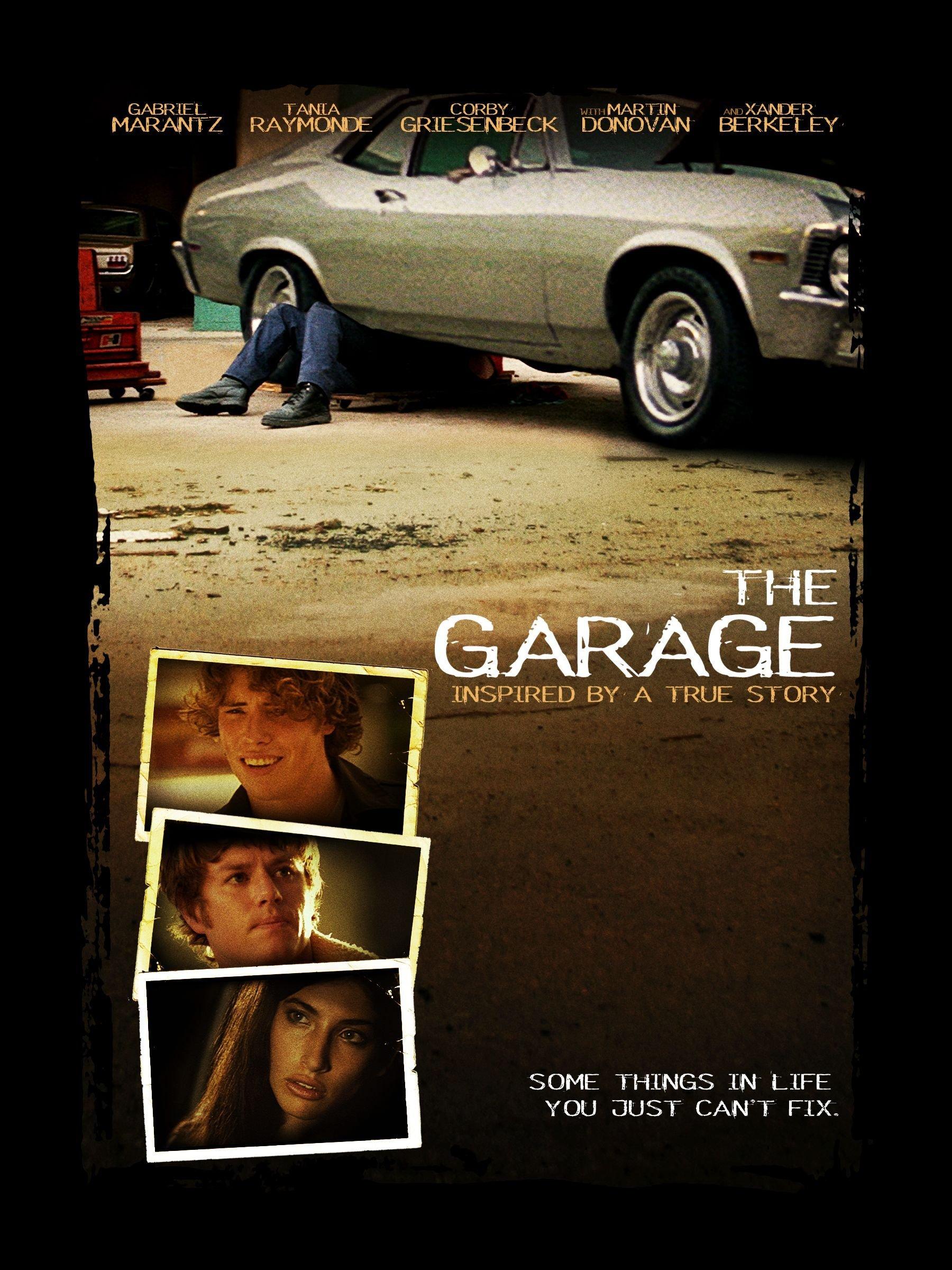 The Garage kapak