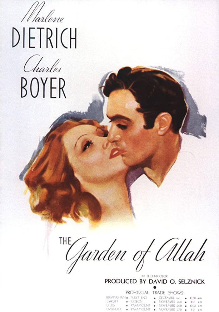The Garden of Allah kapak