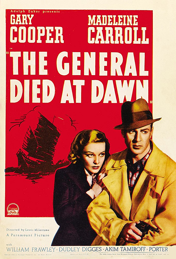 The General Died at Dawn kapak