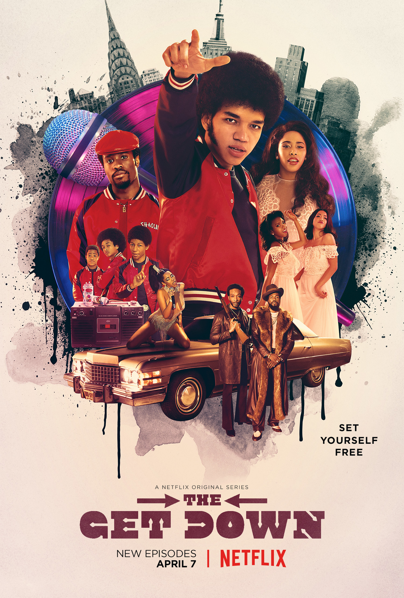 The Get Down kapak
