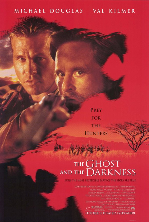 The Ghost and the Darkness kapak