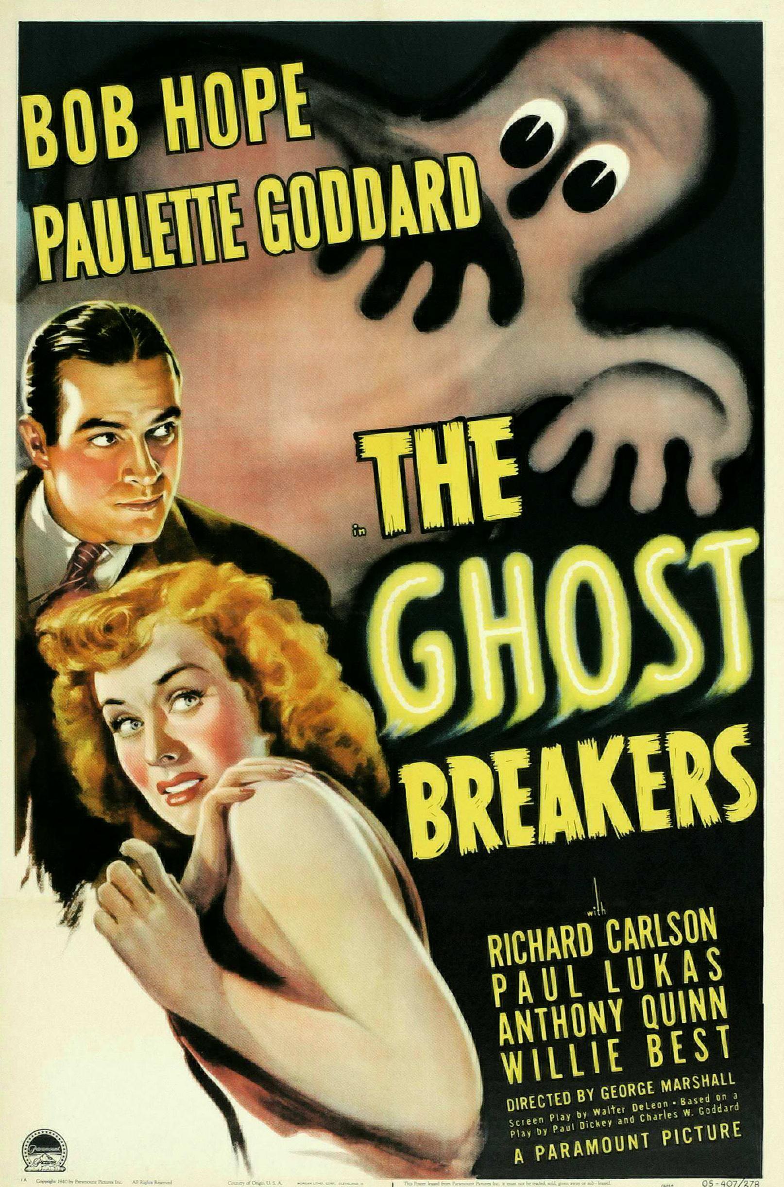 The Ghost Breakers kapak
