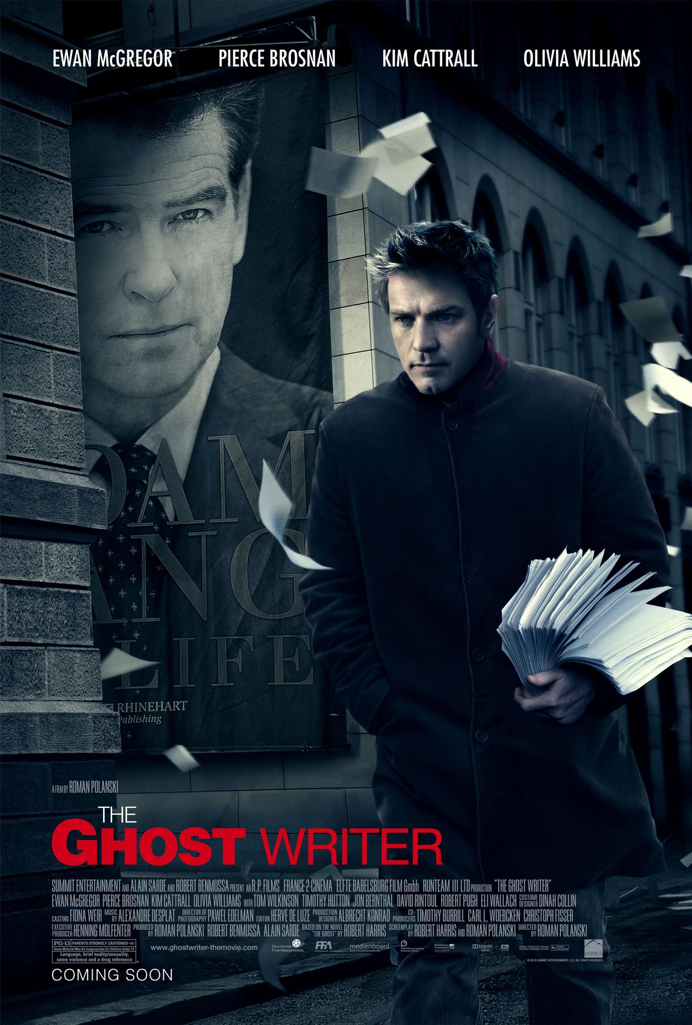 The Ghost Writer kapak