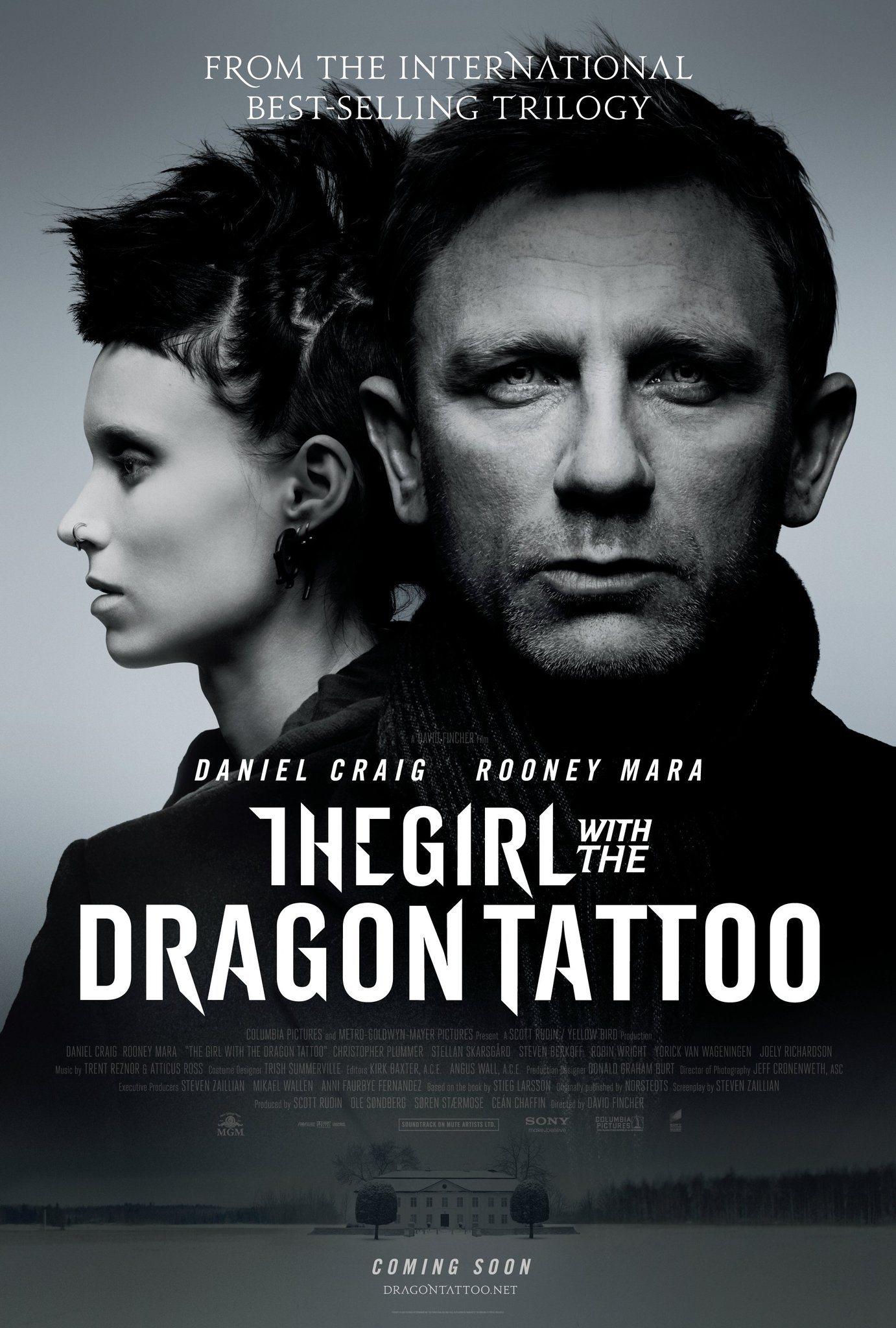 The Girl with the Dragon Tattoo kapak