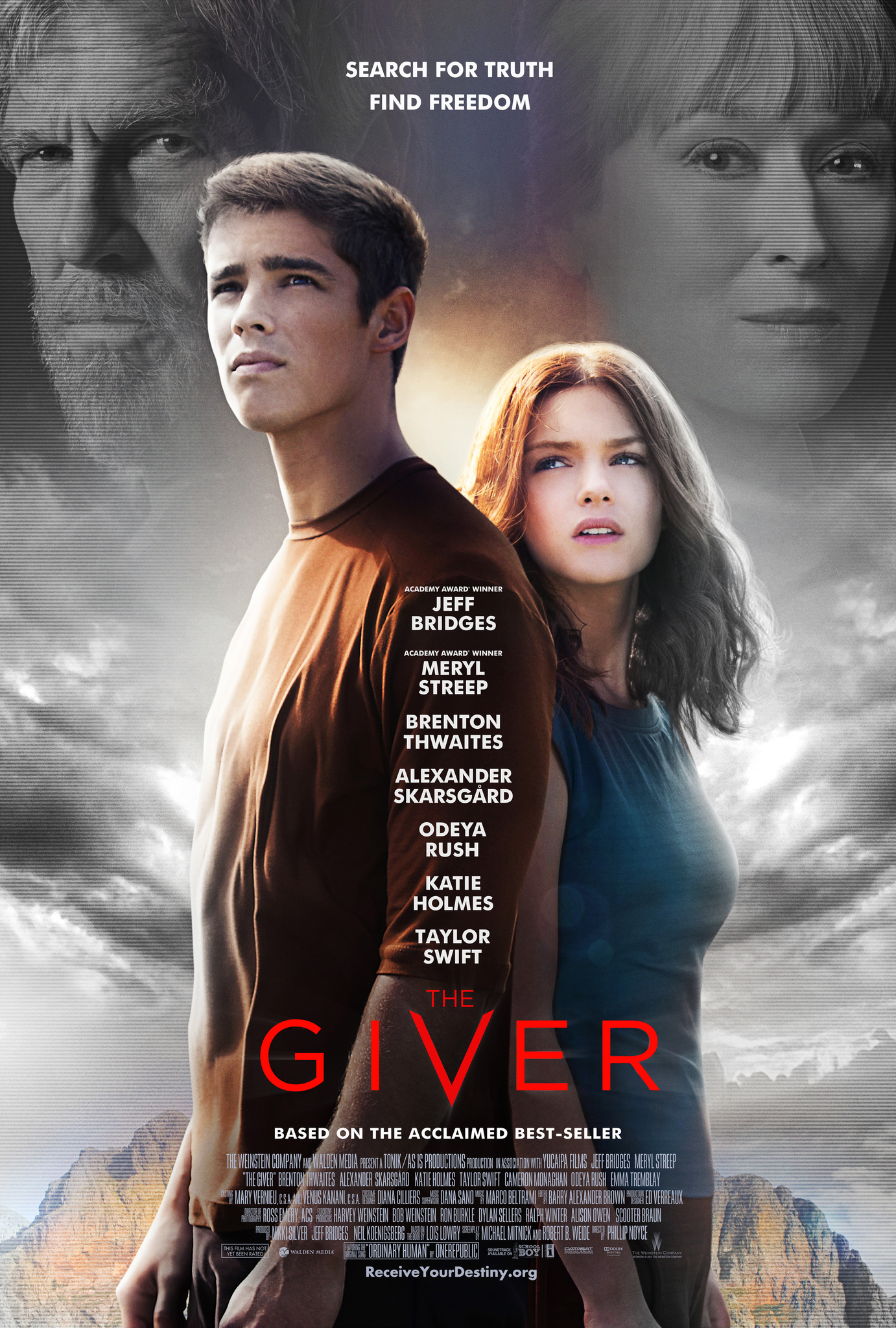 The Giver kapak