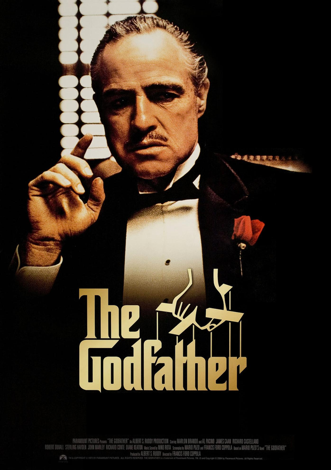 The Godfather kapak