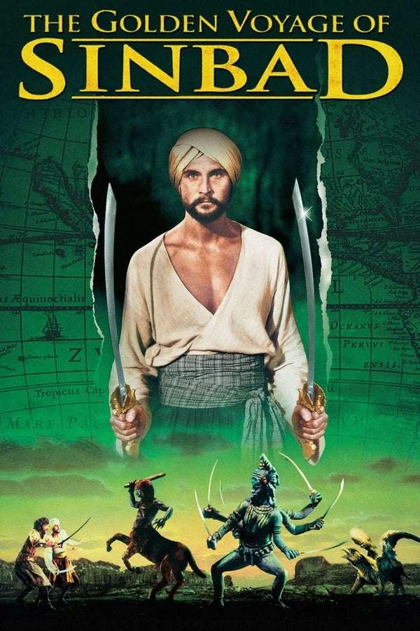 The Golden Voyage of Sinbad kapak