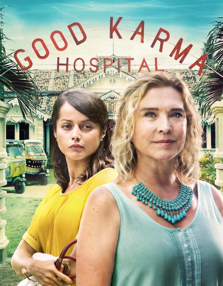 The Good Karma Hospital kapak
