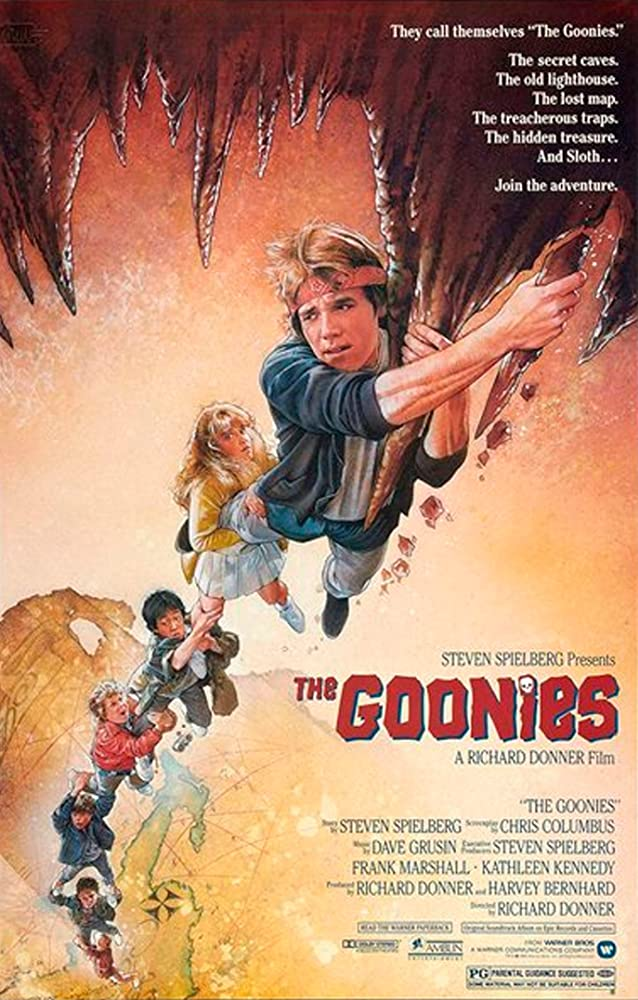 The Goonies kapak