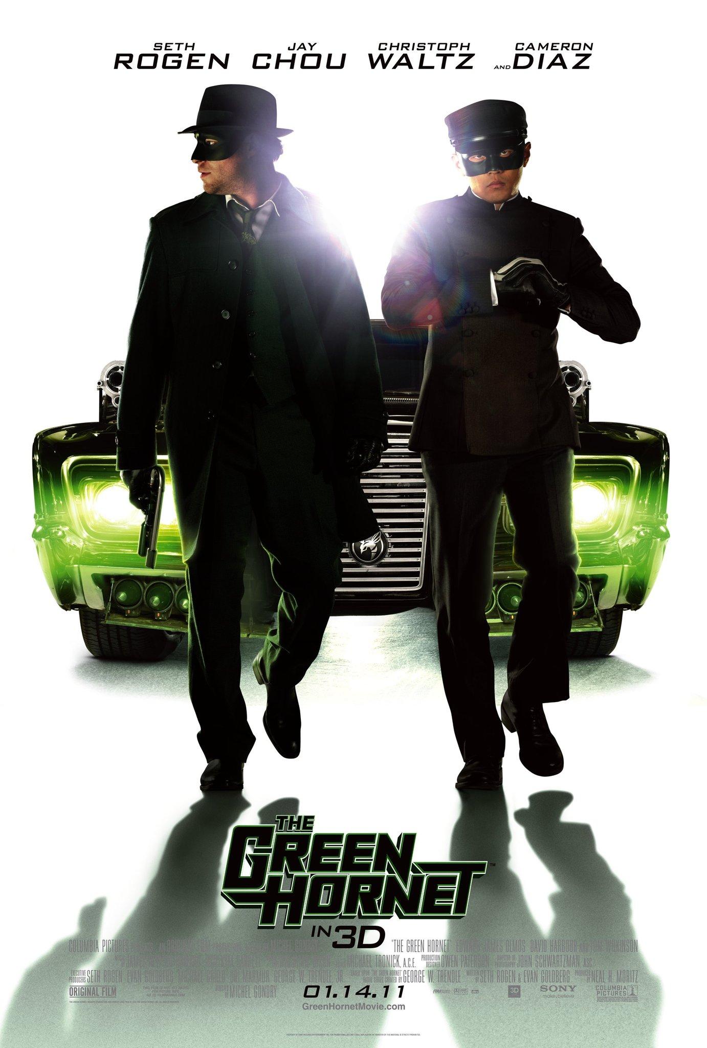 The Green Hornet kapak
