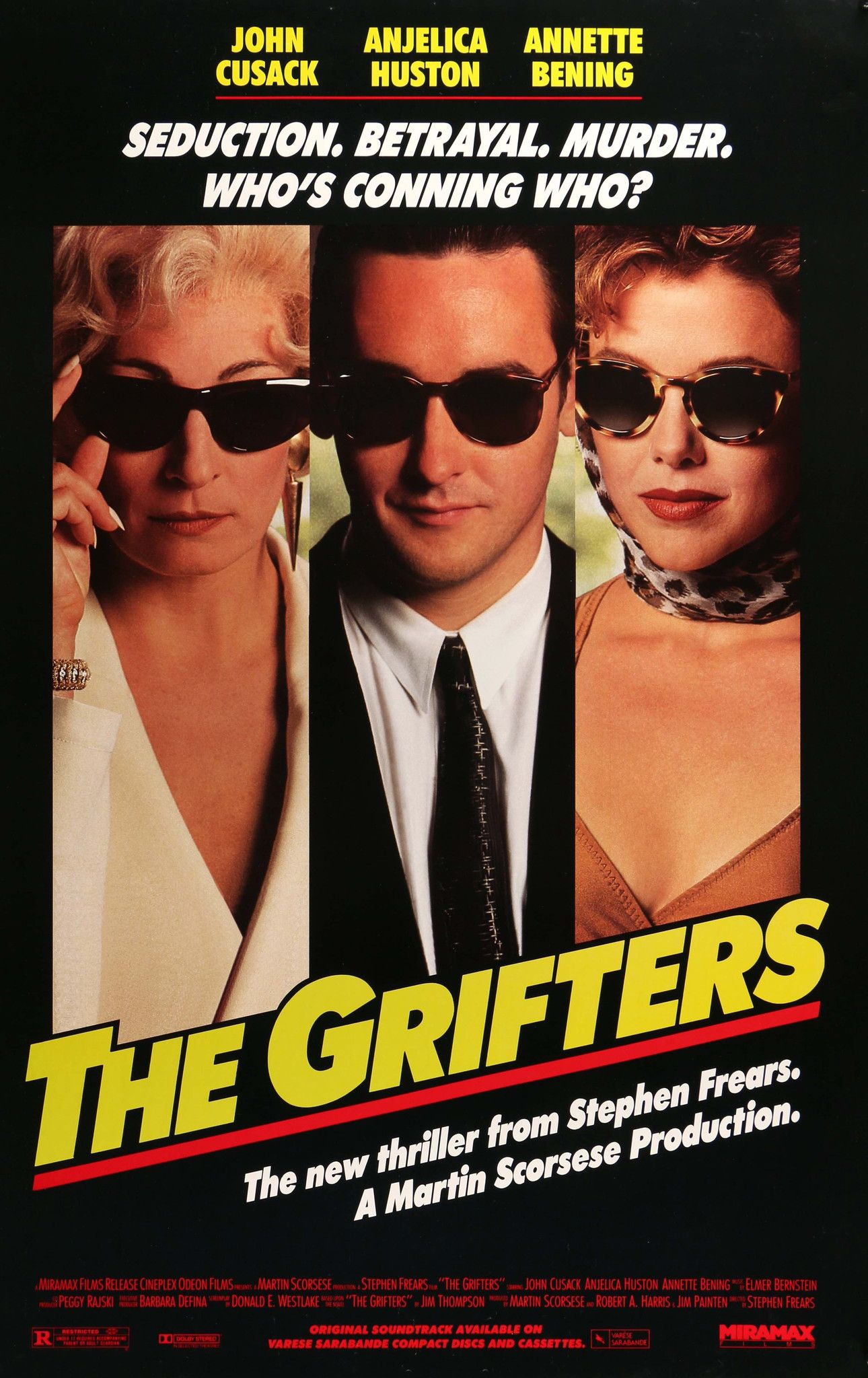 The Grifters kapak