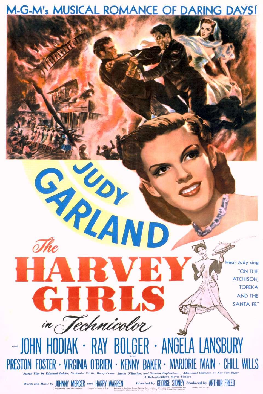 The Harvey Girls kapak