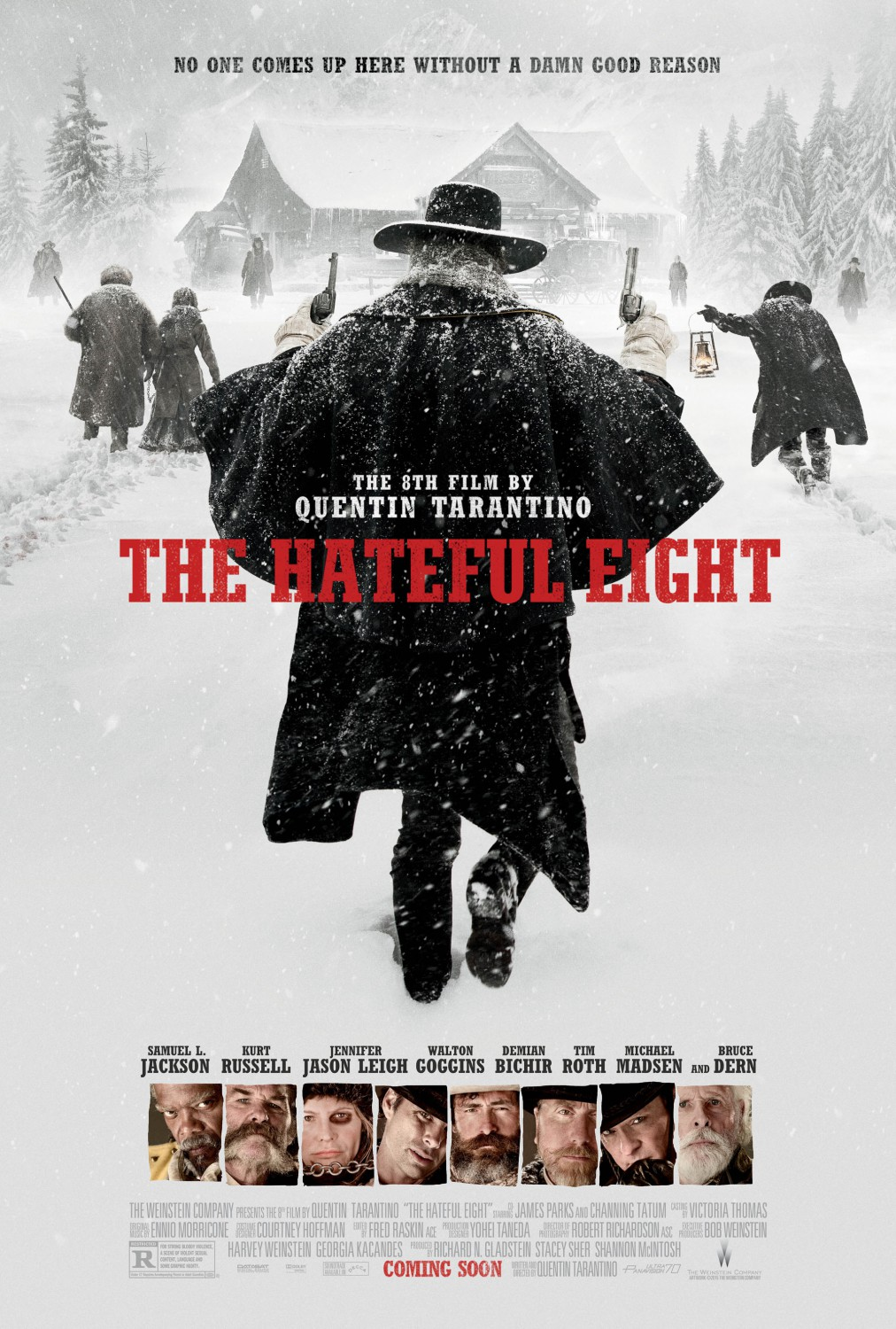 The Hateful Eight kapak