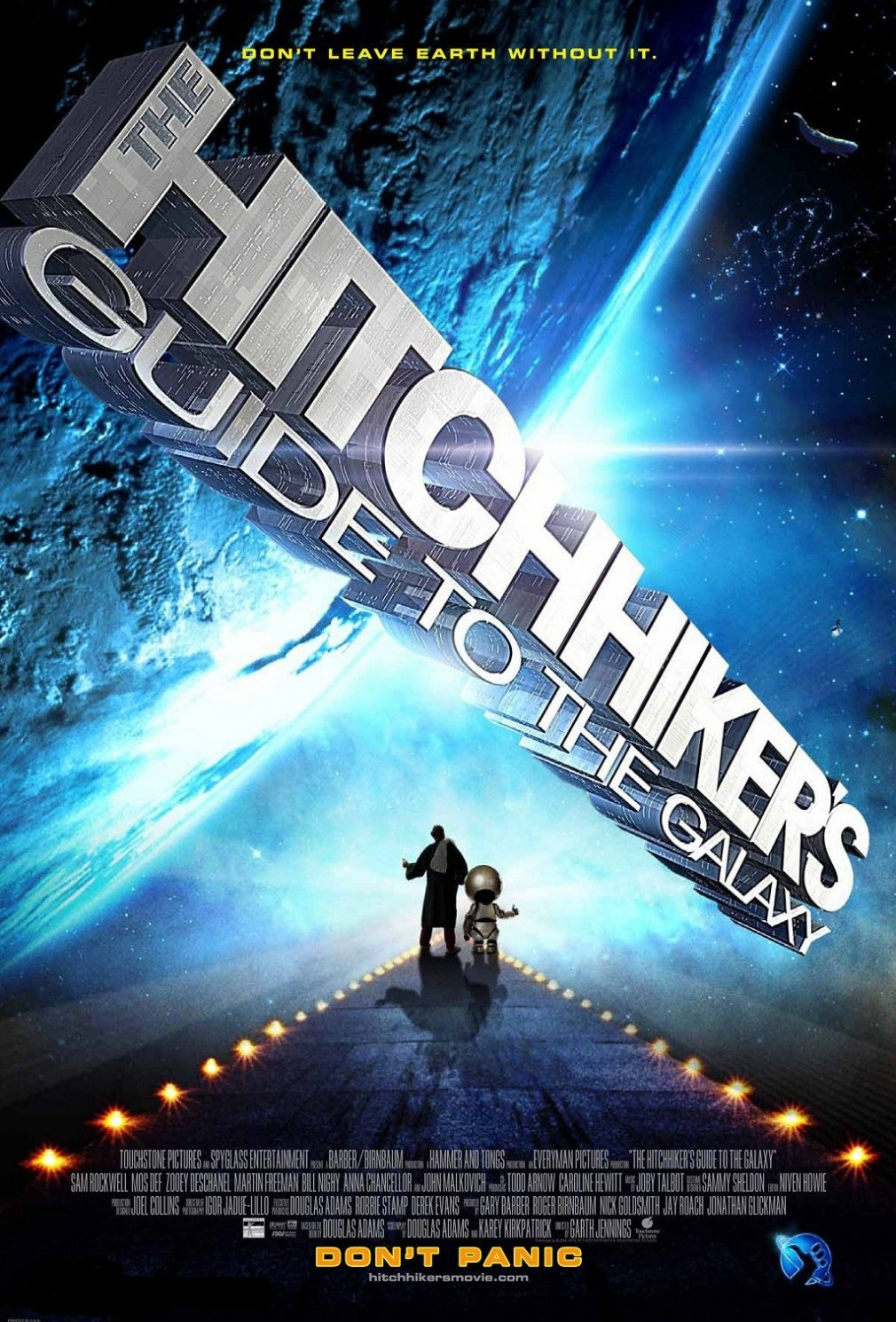 The Hitchhiker's Guide to the Galaxy kapak