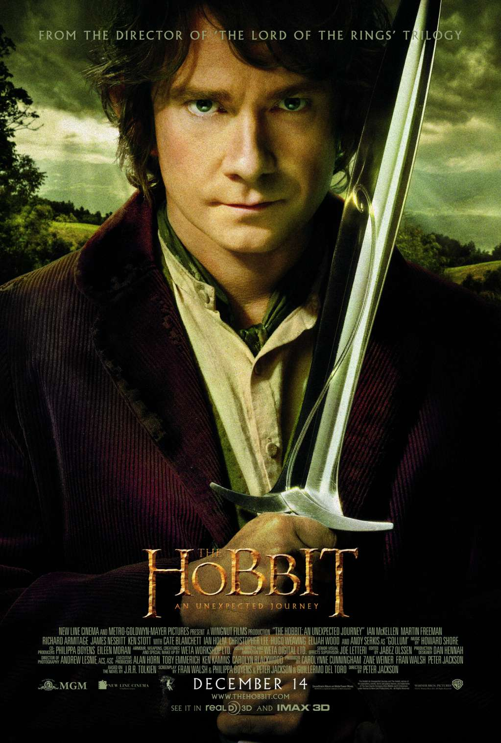 The Hobbit: An Unexpected Journey kapak