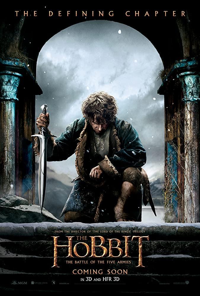 The Hobbit: The Battle of the Five Armies kapak