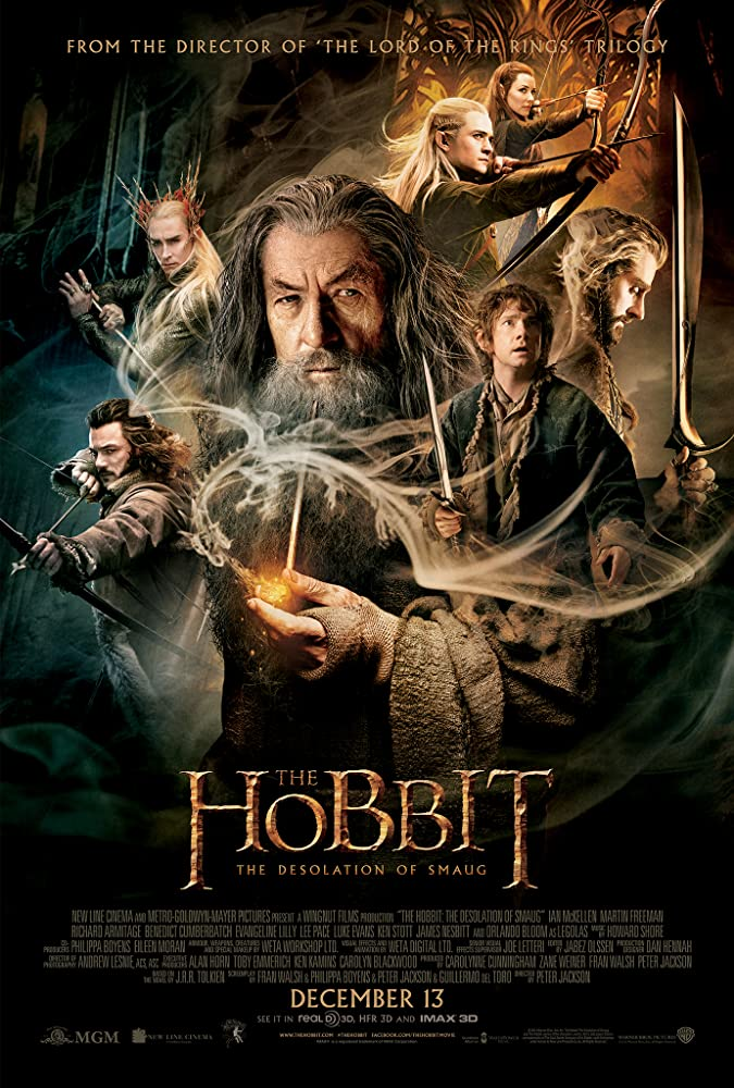 The Hobbit: The Desolation of Smaug kapak