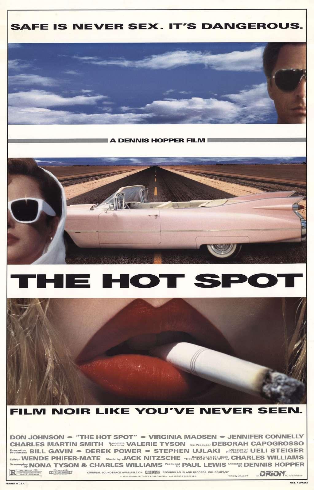 The Hot Spot kapak