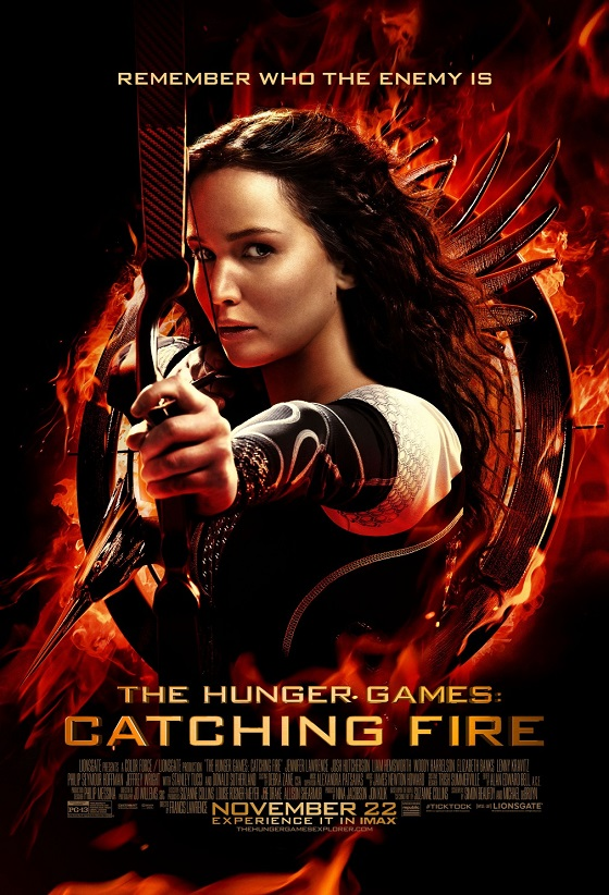 The Hunger Games: Catching Fire kapak