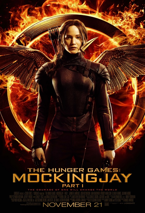 The Hunger Games: Mockingjay - Part 1 kapak