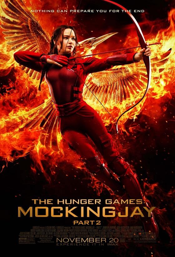 The Hunger Games: Mockingjay - Part 2 kapak