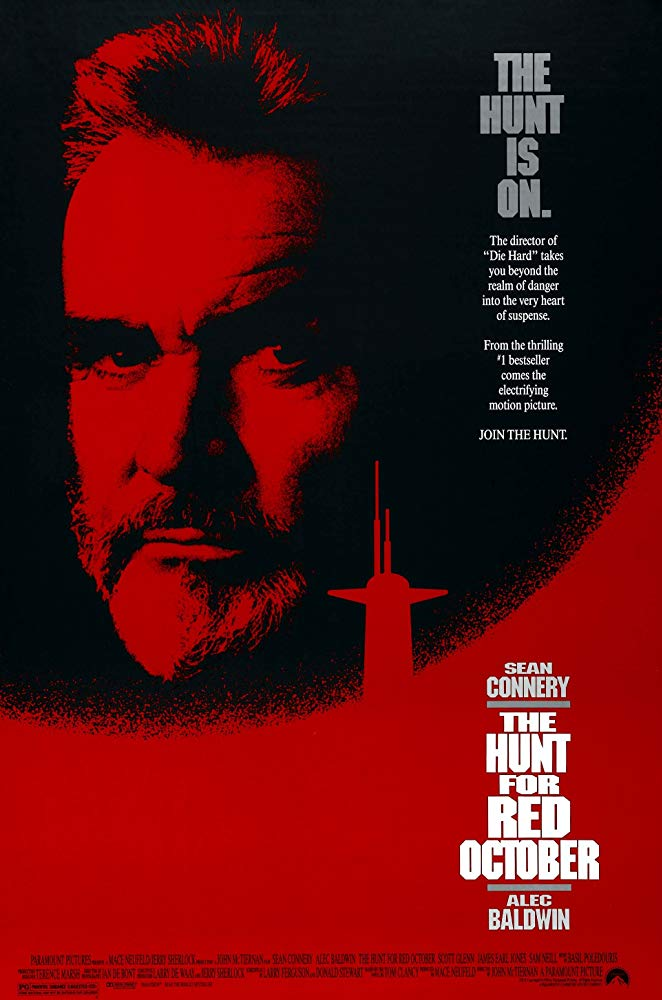 The Hunt for Red October kapak