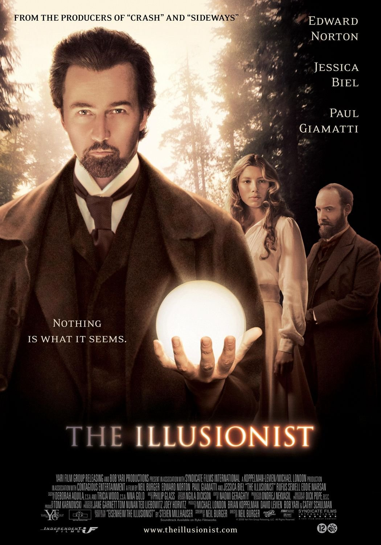 The Illusionist kapak
